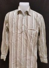 Buy Perry Ellis Small Mens Dress Shirt L/S Striped UNIQUE