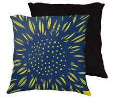 Buy Distasio 18x18 Blue Yellow Pillow Flowers Floral Botanical Cover Cushion Case Throw P