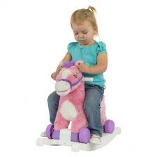 Buy NEW Rockin Rider Pony Toy Candy 2-In-1 Pink Girls Baby Toddler