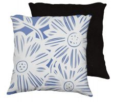 Buy Chockley 18x18 Blue White ### Pillow Flowers Floral Botanical Cover Cushion Case Thro