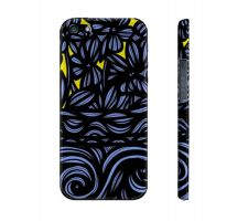 Buy Camaeho Yellow Blue Flowers Floral Botanical Iphone 5/5S Phone Case