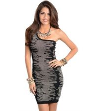 Buy SEXY WOMEN BLACK WITH SHIMMER PARTY ,COCKTAIL DRESS S,M,L