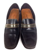 Buy Cole Haan Shoes 7 Womens Black Leather Loafers