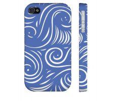 Buy Cloe Blue White Iphone 4/4S Phone Case