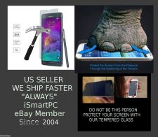 Buy LG G3 Tempered Glass Screen Protector Gorilla Strength Crack Saver