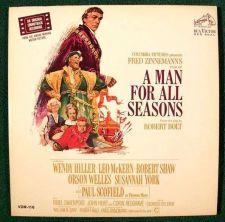 Buy A MAN FOR ALL SEASONS ~ 1966 Original Soundtrack Recording DOUBLE LP