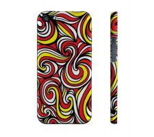 Buy Brengettey Yellow Red Black Iphone 5/5S Phone Case