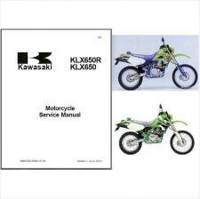 Buy 93-96 Kawasaki KLX650 KLX650R Service Repair Manual CD ....- KLX 650 R 650R