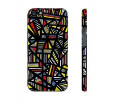 Buy Pesarchick Yellow Red Blue Iphone 5/5S Phone Case