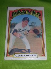 Buy VINTAGE CECIL UPSHAW BRAVES 1972 TOPPS #74 GD