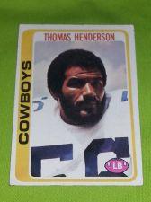 Buy VINTAGE THOMAS HENDERSON COWBOYS HOF SUPERSTAR 1976 TOPPS #213 FR-GD