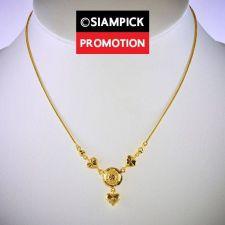 "Buy 18"" Dubai Pendant Necklace 22k 24k Thai Baht Yellow Gold GP Chain Jewelry N069"
