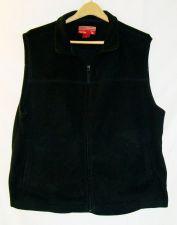 Buy EUC men's, sz. L, CARIBOU CREEK, black, sleeveless, zippered, vest jacket