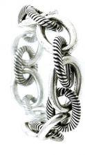 Buy Chunky Metal Link Stretch Bracelet