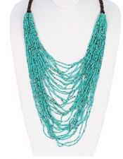 Buy Multilayered Seed Bead Necklace