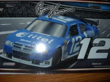 Buy Ryan Newman # 12Metal License Plate 12 x 6 new wrapped Nascar Car Tag