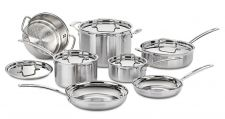Buy Cuisinart MCP-12N MultiClad Pro Stainless Steel 12-Piece Cookware Set