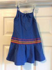 Buy Nautica Girls Summer Sun Dress Blue Size 4t