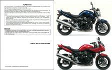 Buy Suzuki GSF650 GSF650S Bandit GSX650F Service Repair Manual CD -- GSF 650 S GSX F
