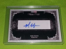 Buy MLB MARK WAGNER AUTOGRAPHED 2008 TRI-STAR SIGNA CUTS MNT