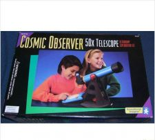 Buy COSMIC OBSERVER 50x telecscope - complete lab set kit science kids childrens