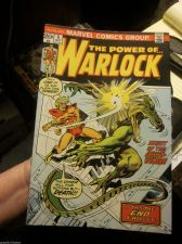 Buy WARLOCK #8 (the Power Of) Marvel Comics 1st print & series 1973 Frederich/Brown