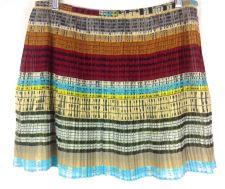 Buy Broadway Broome Skirt 6 Womens Multicolor Pleated Mini