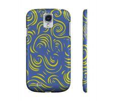 Buy Gusa Yellow Blue Samsung Galaxy S4 Phone Case