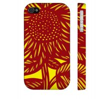 Buy Schwent Yellow Red Iphone 4/4S Apple Phone Case Flowers Botanical