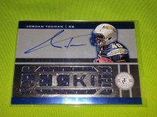Buy NFL JORDAN TODMAN CHARGERS AUTOGRAPHED 2012 PANINI JUMBO JERSEY /499 MNT