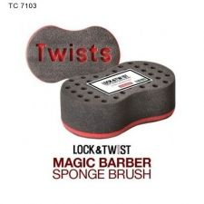 Buy Magic Black TWIST DREAD AFRO Sponge Beauty Natural Hair Salon Tool Unisex