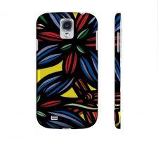 Buy Chiarenza Blue Red Green Samsung Galaxy S4 Phone Case Flowers Botanical