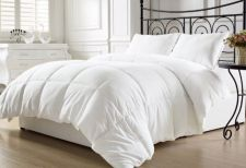 Buy Chezmoi Collection White Goose Down Alternative Comforter, Full/Queen with Co...