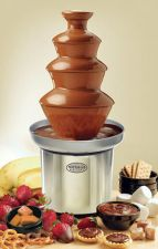 Buy NEW Nostalgia Electrics Chocolate Fondue Fountain Party 3-Tier Stainless