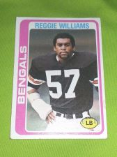Buy VINTAGE REGGIE WILLIAMS BENGALS HOF SUPERSTAR 1976 TOPPS #229 FR-GD