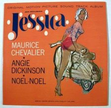 Buy JESSICA ~ 1962 Original Motion Picture Soundtrack LP ** Mitchell Hooks cover