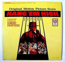 Buy HANG 'EM HIGH ~ 1968 Original Motion Picture Score LP