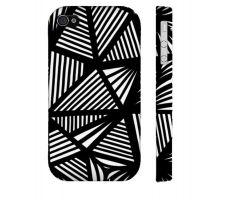 Buy Padel Black White Iphone 4/4S Phone Case
