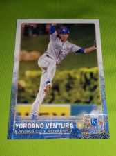 Buy MLB YORDAMO VENTURA ROYALS SUPERSTAR 2015 TOPPS #78 GEM MNT