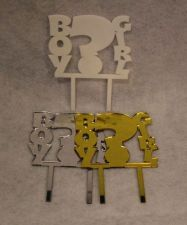 "Buy Baby Shower Question Mark Cake Topper - 1/8"" Acrylic -"
