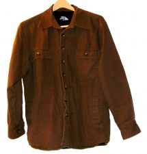 Buy EUC men's sz. L, The North .15, brown, medium weight, lined, hoodless,jacket