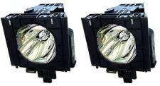 Buy PANASONIC ET-LAD57W ETLAD57W TWIN PACK LAMPS IN HOUSINGS FOR PROJECTOR PTD5100
