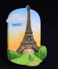 Buy 3D SCULPTURE FRIDGE MAGNET MEMORIAL PLACE EIFFEL TOWER PARIS SOUVENIR GIFT