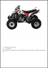 Buy Hisun HS450ATV-2 Service Repair Workshop Manual CD .. - HS450 HS 450 ATV 2