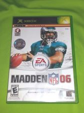 Buy MADDEN NFL 06 MICROSOFT XBOX TESTED AND WORKING