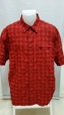 Buy Eddie Bauer Men L Button Front Camp Fishing Outdoor Hunting EUC