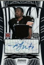 Buy NFL 2009 Bowman Sterling Football PATCH/AUTO Mohamed Massaquoi MNT