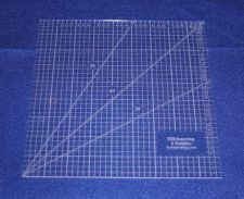 """Buy 9"""" Square Ruler. Acrylic 1/8"""" thick. Quilting/Sewing/Embroidery"""