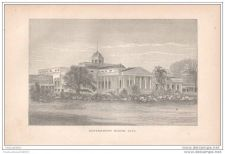 Buy JAVA ISLAND - GOVERNMENT HOUSE, JAVA - engraving from 1873