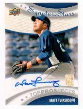 Buy MLB 2009 Upper Deck Matt Tuiasosopo AUTO RC MNT